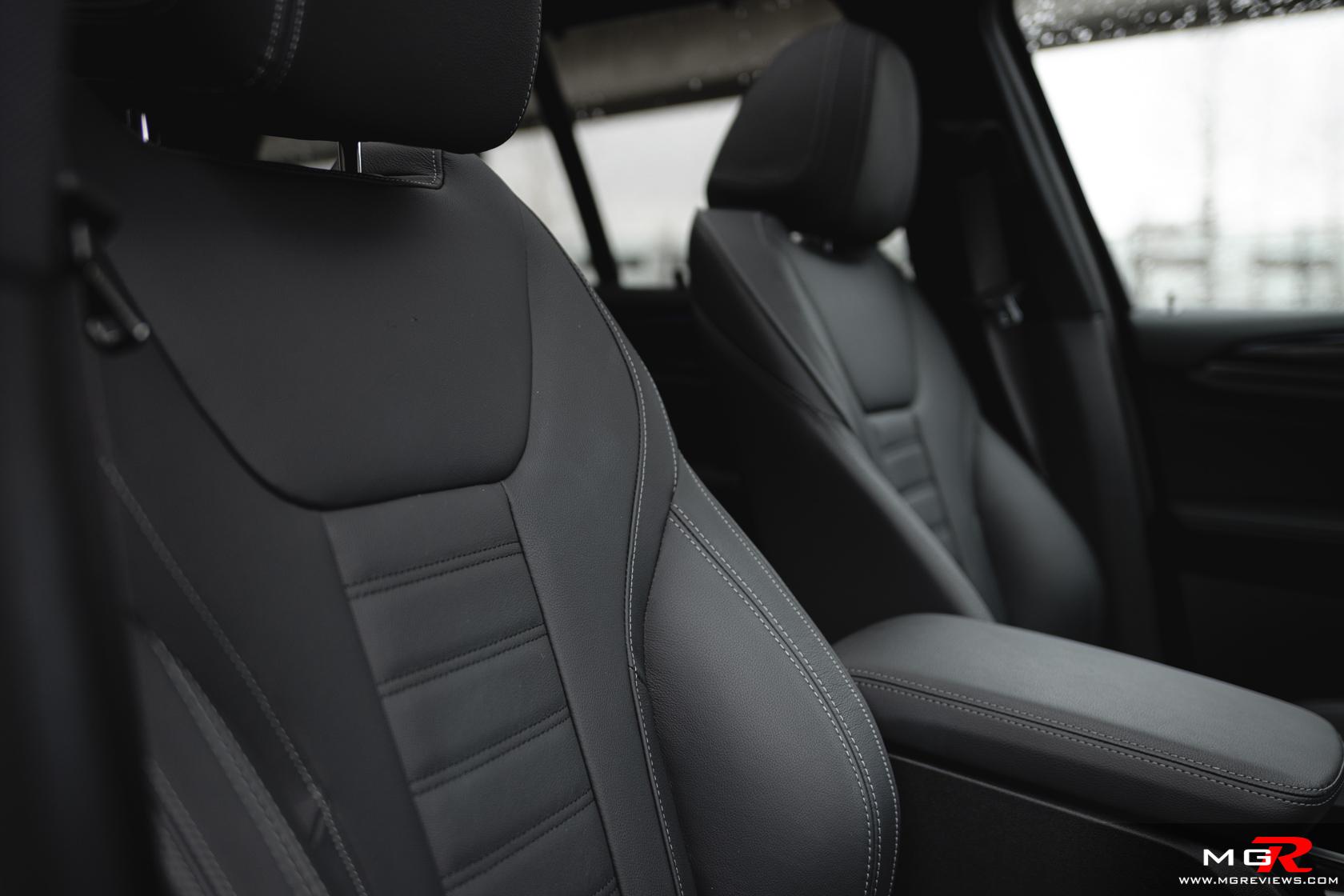2020 BMW X3 30e xDrive Interior