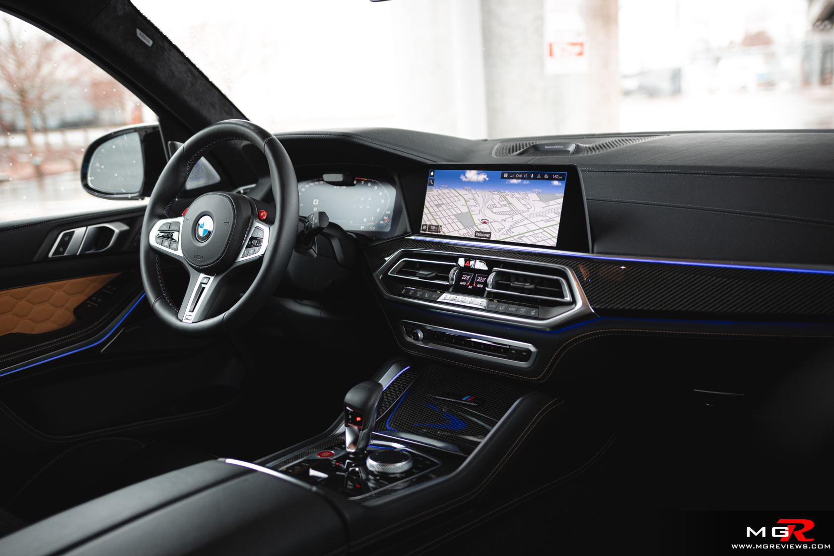 BMW X5M Competition Interior