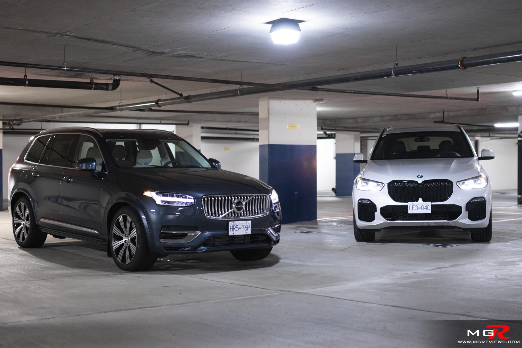 2021 Volvo XC90 T8 Recharge vs 2021 BMW X5 45e xDrive