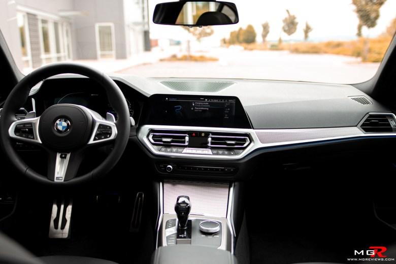 2021 BMW 330e xDrive Interior
