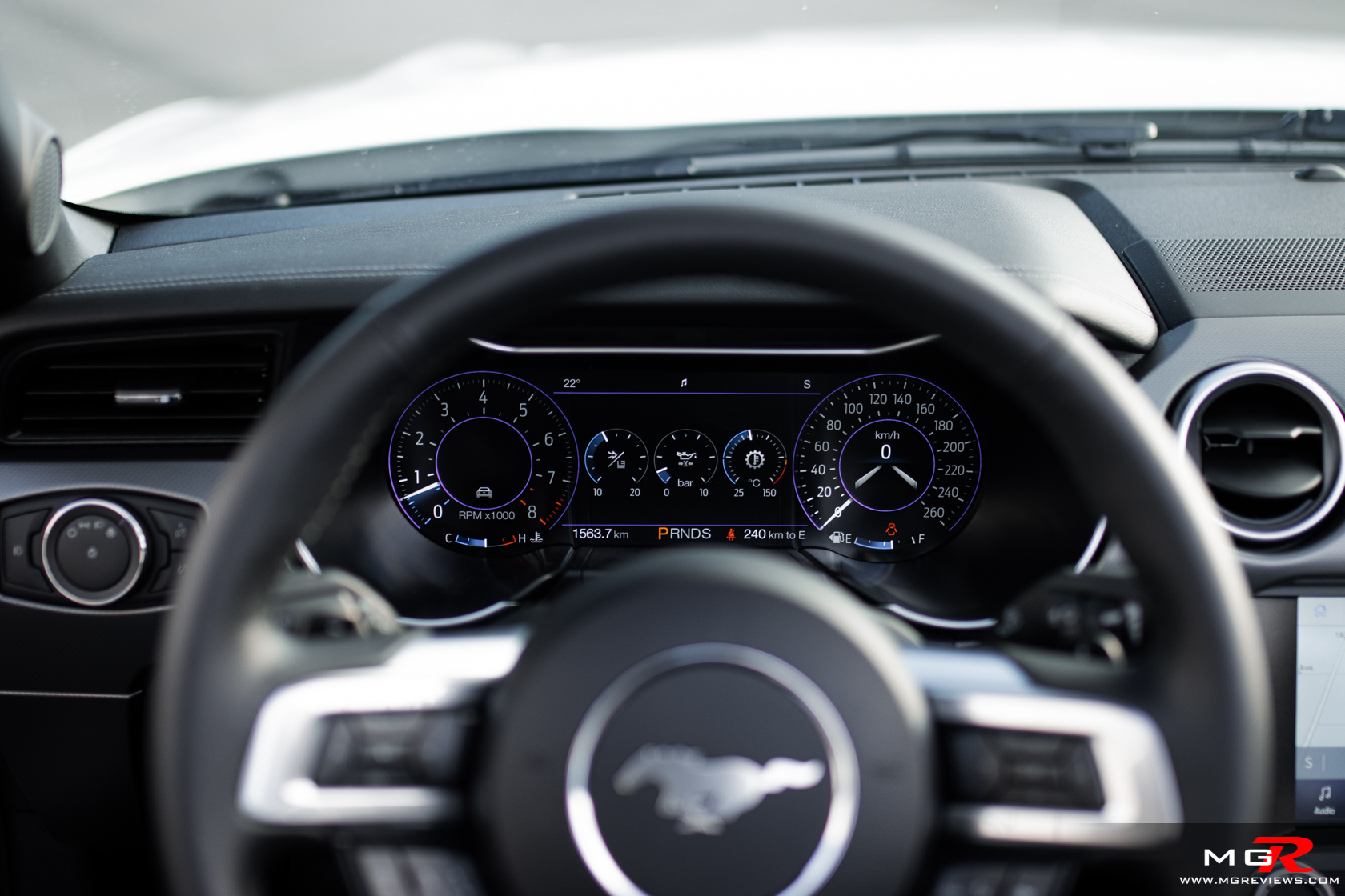 2021 Ford Mustang GT Convertible Interior
