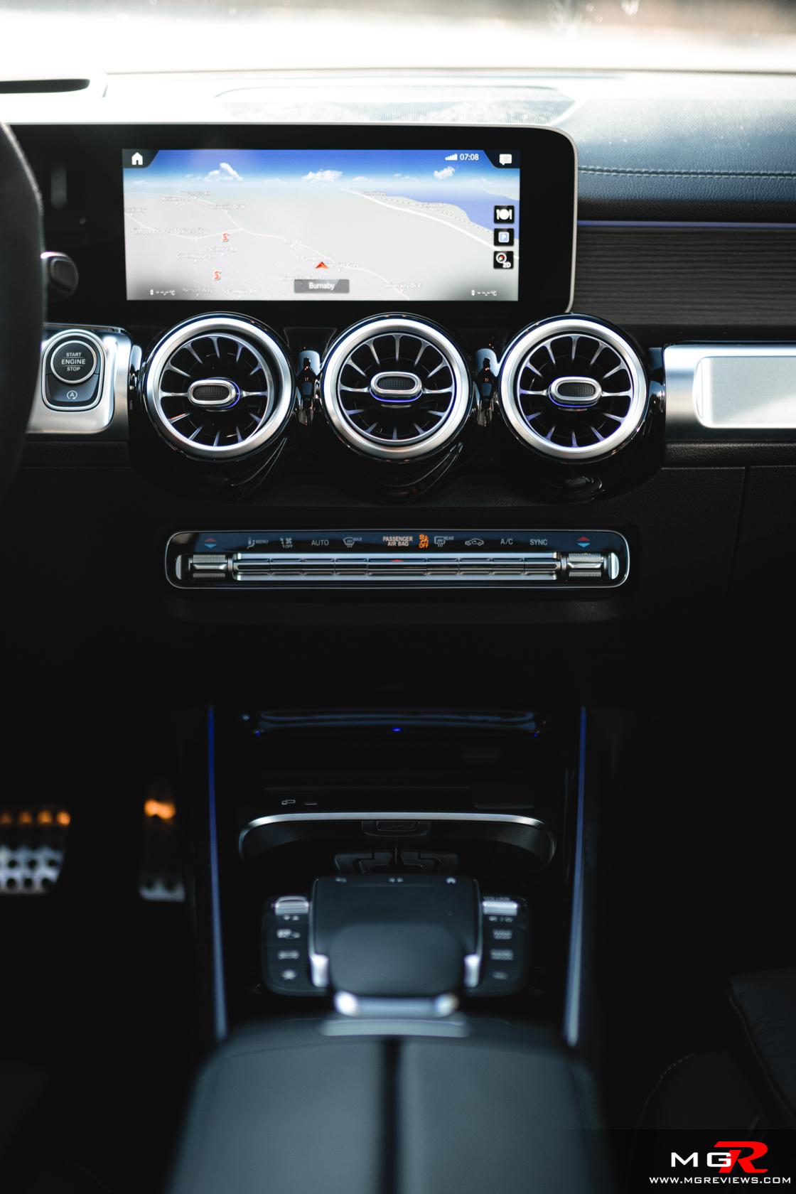 2021 Mercedes-Benz GLB 35 AMG 4MATIC Interior