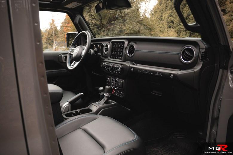 2021 Jeep Wrangler 4xe Interior