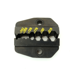RG-174 & RG-58 Interchangeable Die for standard ratcheting crimper tools (P/N: 7505-DIE-174) - Max-Gain Systems, Inc.
