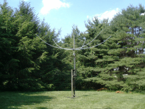 Hexbeam On Mast