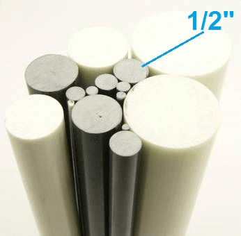 "1/2"" OD Round Solid Rod"