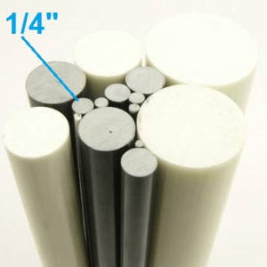 "1/4"" OD Round Solid Rod"