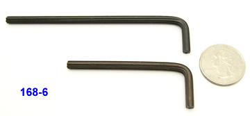 "0.168"", 6-flute Spline tools"