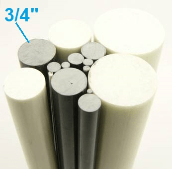 "3/4"" OD Round Solid Rod"