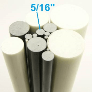 "5/16"" OD Round Solid Rod"