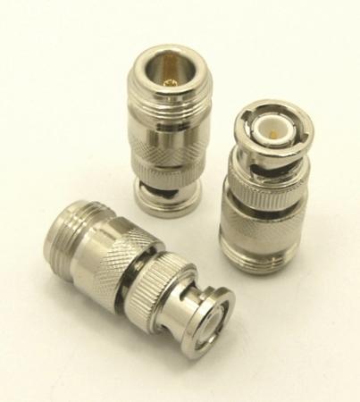 N-female / BNC-male Adapter (P/N: 7052)