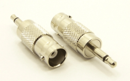 BNC-female / 3.5 MM-male Adapter (P/N: 7075)