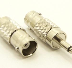 BNC-female / 3.5 MM-male Adapter (P/N: 7075)