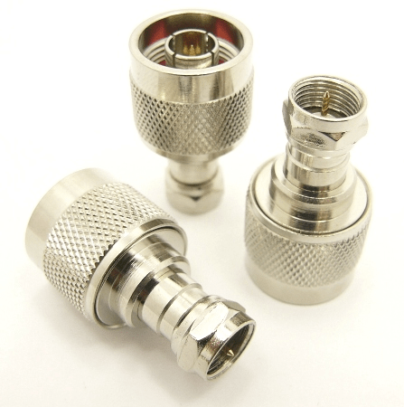 N-male / F-male Adapter (P/N: 7237)