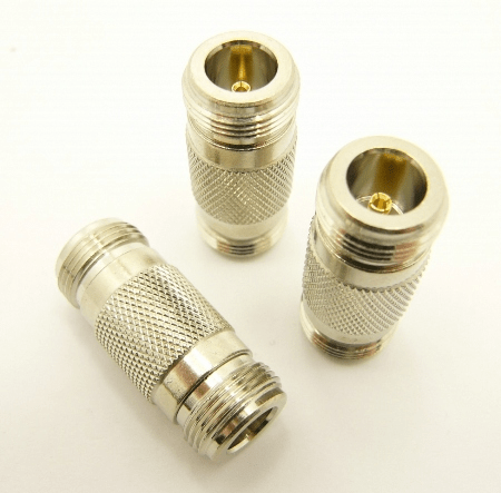 N-female / N-female Adapter (P/N: 7323)