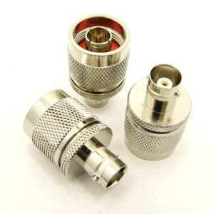 N-male / BNC-female Adapter (P/N: 7324)