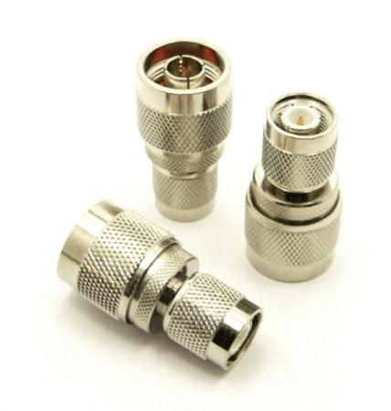 N-male / TNC-male Adapter (P/N: 7327)