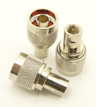 N-male / FME-male Adapter (P/N: 7395)