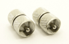 UHF-male / UHF-male Adapter (P/N: 7514)