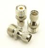 UHF-female / mini-UHF-male Adapter (P/N: 7610)