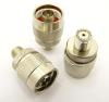 N-male / mini-UHF-female Adapter (P/N: 7630)