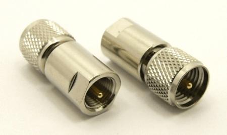 mini-UHF-male / FME-male Adapter (P/N: 7691)