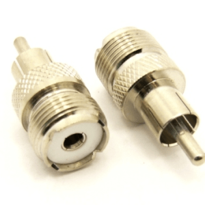 UHF-female / RCA-male Adapter (P/N: 7702)