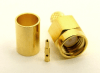 SMA-male, cable end, crimp-on, for LMR-195 RG-316 and RG-58 (P/N: 7805-58)