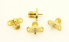 SMA-female / 2 hole flange panel mount (P/N: 7813)