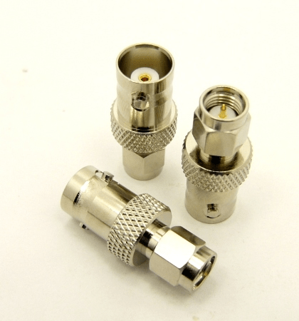 BNC-female / SMA-male Adapter (P/N: 7820)