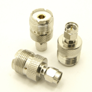 UHF-female / SMA-male Adapter (P/N: 7828)