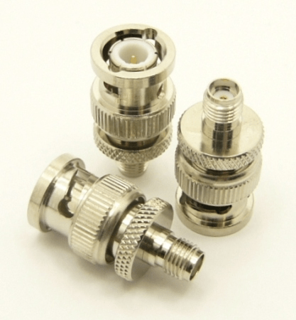 BNC-male / SMA-female Adapter (P/N: 7829)