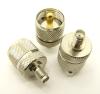 UHF-male / SMA-female Adapter (P/N: 7837)