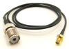 UHF-female / SMA-female with 36 inches of RG-174 coaxial cable (P/N: 7839-CBL-36)