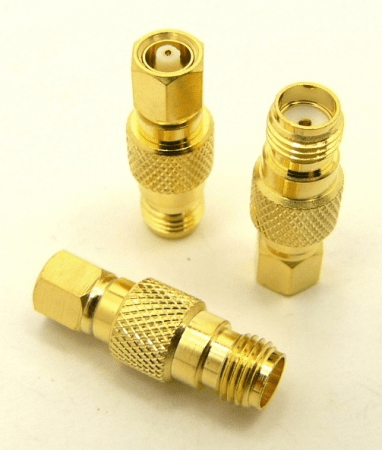 SMA-female / SMC-male Adapter (P/N: 7848)