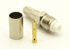 FME-female, cable end, crimp-on for RG-223 RG-59 LMR-240 and RG-8X mini 8 (P/N: 7906-8X)