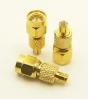 MCX-male / SMA-male Adapter (P/N: 8102)