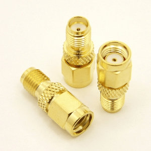 SMA-female / RP-SMA-male Adapter (P/N: 8501)