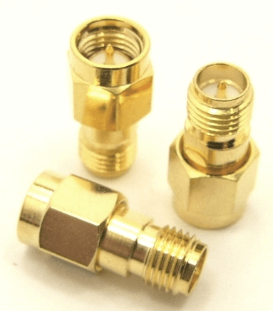 SMA-male / RP-SMA-female Adapter (P/N: 8503)