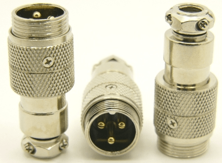 3-pin microphone jack cable extension (P/N: 9303-EXT)