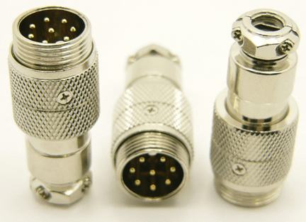 8-pin microphone jack cable extension (P/N: 9308-EXT)