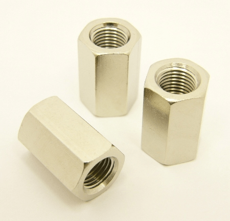 3/8 x 24 thread nut, .875 inch long (P/N: 9917-S-875)