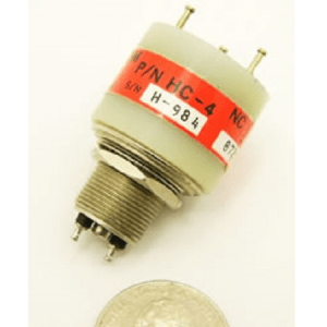 8 kV, 10 kV Peak, SPDT, 15 Amps, Kilovac HC-4 Vacuum Relay - Max-Gain Systems, Inc.