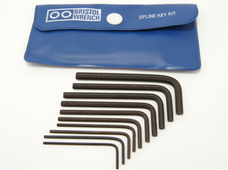 SS-408 - Bristol Spline L-Key Kit