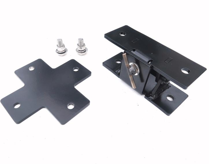 Trailer Hitch Mast Mount Assembley Tilt and Cross - Max-Gain Systems, Inc.
