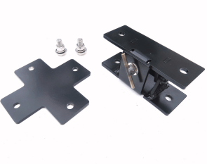 Trailer Hitch Mast Mount Assembley Tilt and Cross - Max-Gain Systems, Inc.