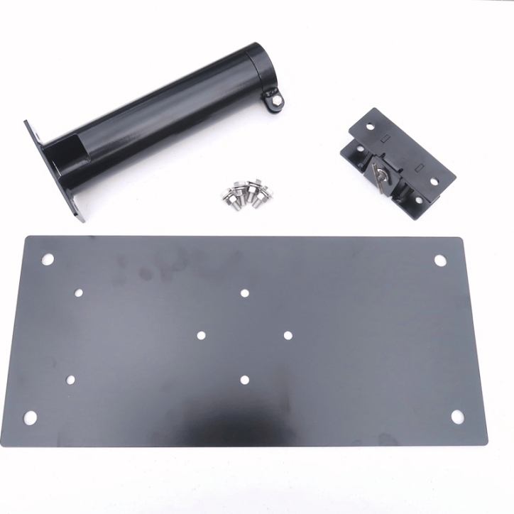 M-D212HDT-K Drive-On Base Plate 2.5 inch Support Tube with Tilt Mechanism - Max-Gain Systems, Inc.