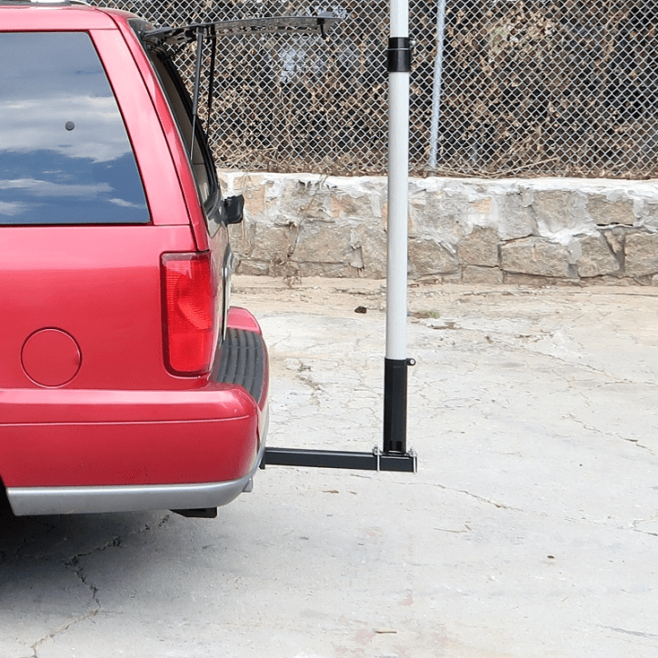 Support Tube installed onto Hitch Bar Correctly - Max-Gain Systems, Inc.