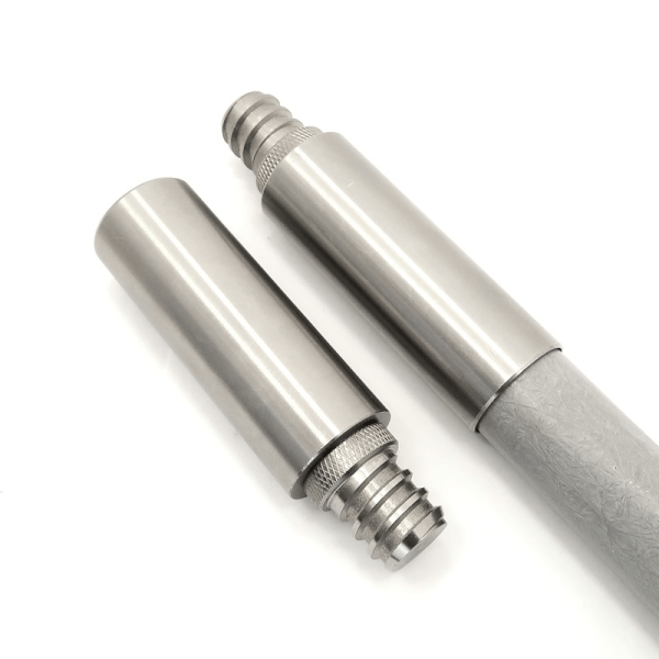 PP-1ATACH-S04 1 inch Stainless Steel Painter Pole Male 34x5 ACME Threaded Tip