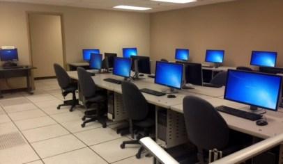 A computer lab
